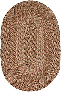 product image for Plymouth 8' ROUND Braided Rug in Multi