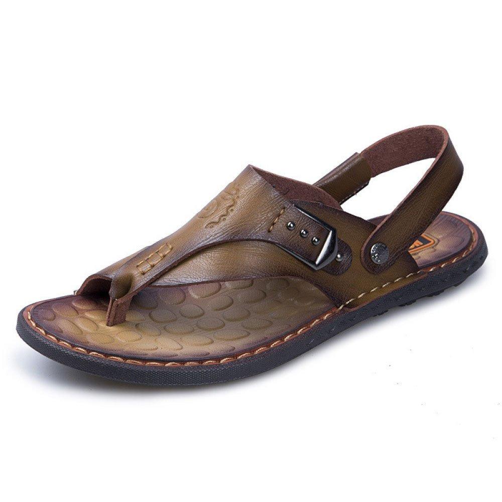 Zapatos De Playa De Los Hombres De La Moda Zapatos Casuales Sandalias 42 EU|Khaki