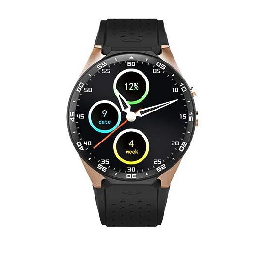 8 opinioni per Oyedens, Smart Watch modello KW88,Android 5.1,Quad Core 4GB, Bluetooth, GPS,