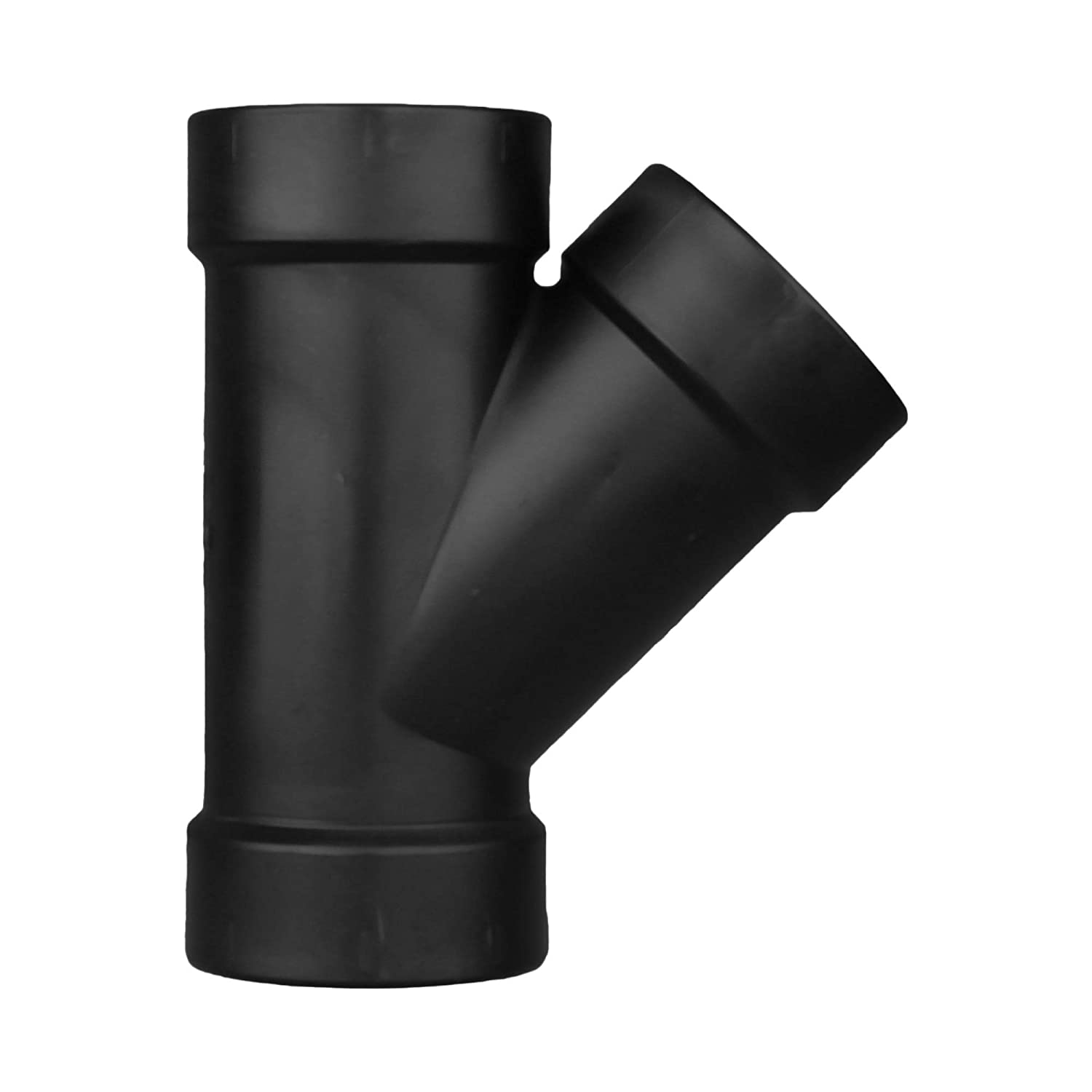 Charlotte Pipe 1-1//2 DWV Wye All Hub ABS DWV Schedule 40 Drain, Waste and Vent Single Unit