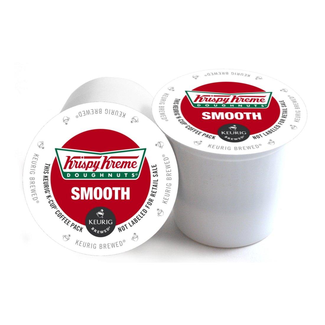 Krispy Kreme Doughnuts Smooth Keurig 2.0 K-Cup Pack, 180 Count