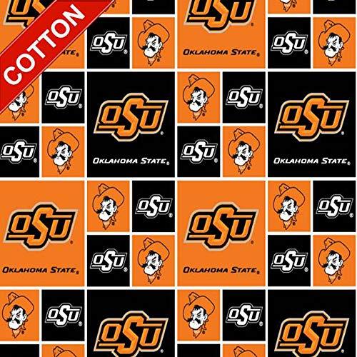 Oklahoma State University Cowboys NCAA Cotton Fabric - 45