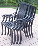 Oakland Living Vanguard 4 Stackable Chairs, 4-in-1-Pack For Sale
