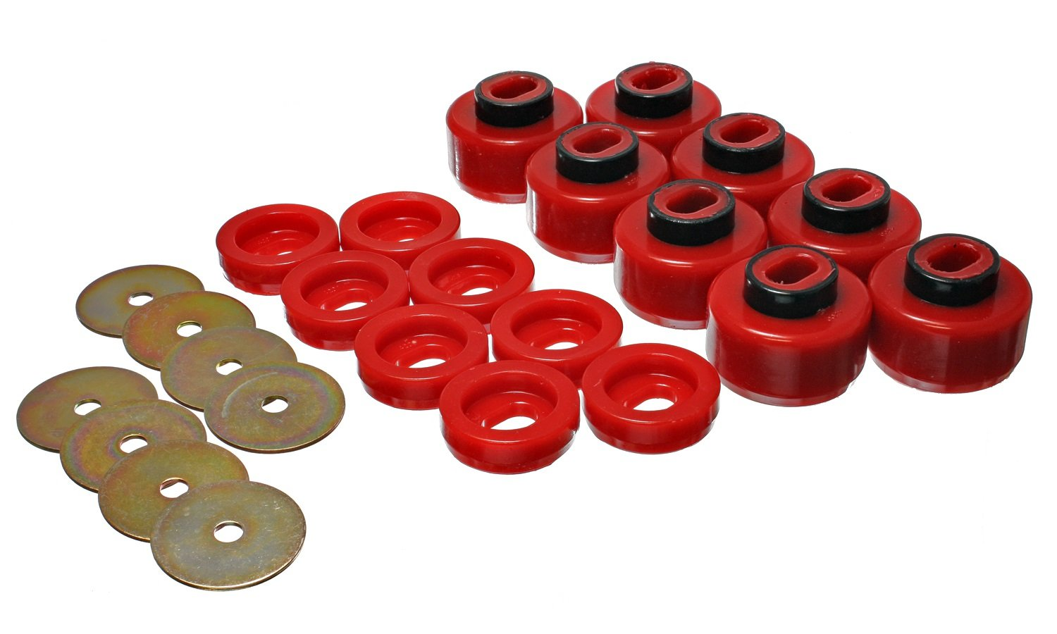 Energy Suspension 3.4150R Body Mount Set for Chevy by Energy Suspension (Image #1)
