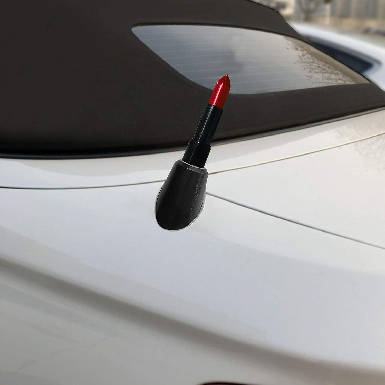 FM//AM Reception Enhanced Stealth Black DROGO 2.5 Lipstick Replacement Antenna for BMW 3 Series Convertible 1991-2006 Tough Material Creative Design
