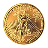 American Coin Treasures Tribute to America's Most Beautiful Coins $20 Saint Gaudens Goldpiece 1907-1933 Replica Coin
