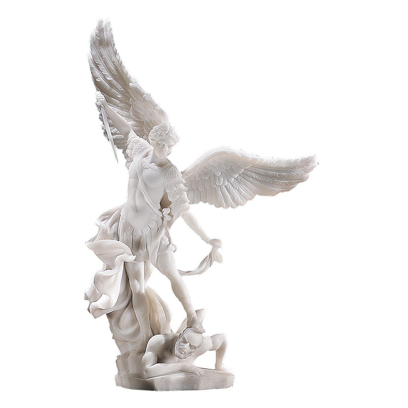 Archangel Bonded Marble Angel Statue St Michael Large