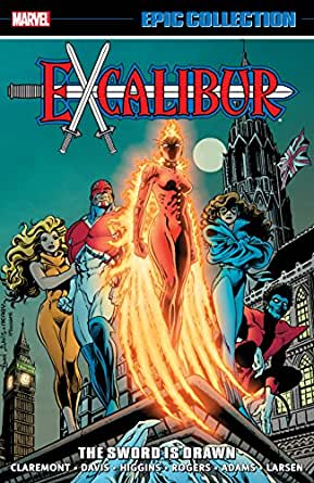 Paperback by Davis Curiouser and Curiouser Excalibur Epic Collection 4 Al...