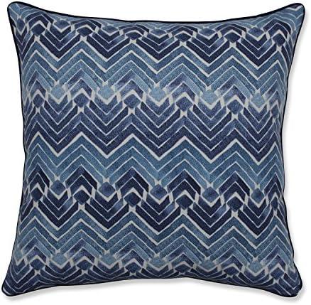 Blue Pillow Perfect Indoor Zen Blend Indigo 18-inch Throw Pillow