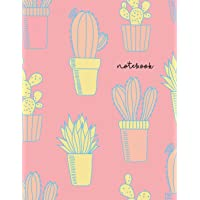 Notebook: NEW - Notebook A4 Lined - Pastel Cactus Print: 1