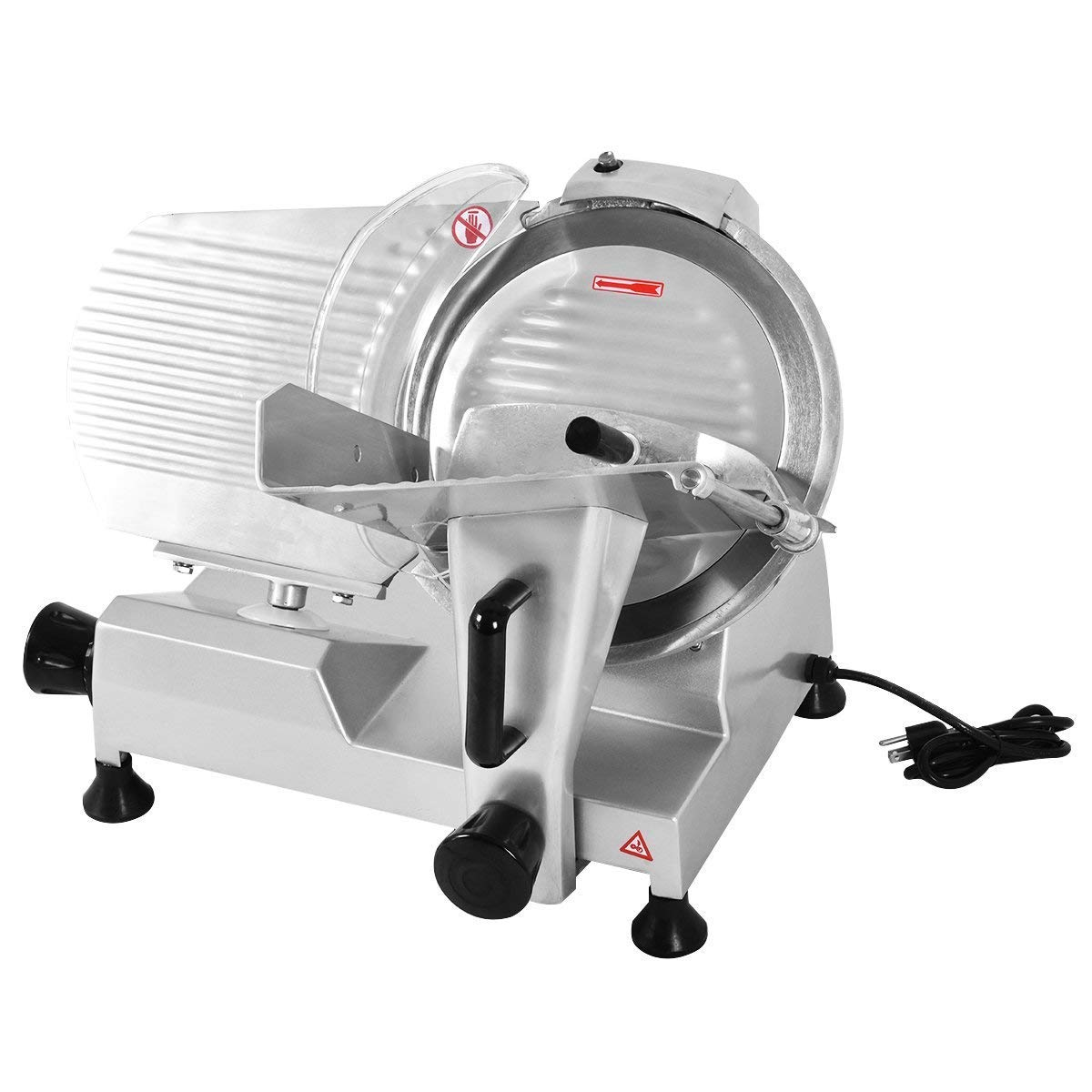 Tangkula Electric Slicer 12 Commercial Meat Slicer Machine For Home Kitchen Restaurant Heavy Duty Chrome Plated Stainless Professional Semi Auto Kitchen Deli Cheese Food Vegetable Slicer Cutter Buy Online In Bahamas At Bahamas Desertcart Com