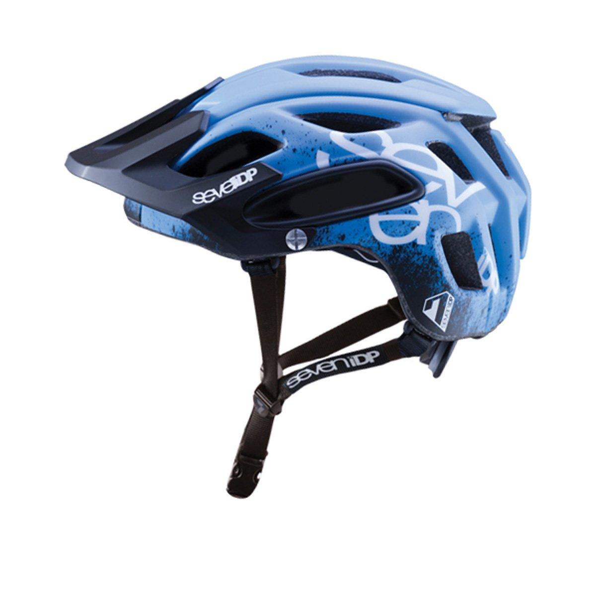 7iDP M2ヘルメット - グラデーションマットブルー/ブラック/ホワイト、m/l   B075V1569P