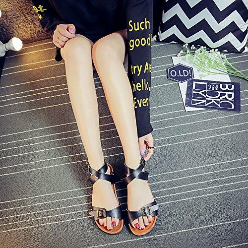 SK Studio Women's Peep-Toe 2fhKXFg