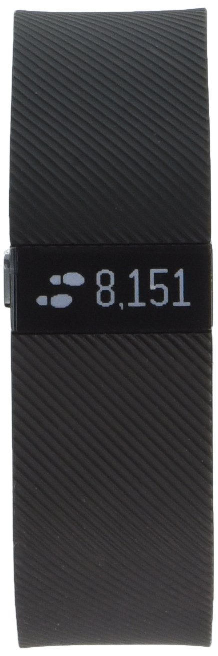 Fitbit Charge Wireless Activity Wristband, Black, Small by Fitbit (Image #2)