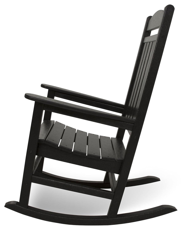 Amazon.com : POLYWOOD R100BL Presidential Rocker, Black : Rocking Chairs :  Garden U0026 Outdoor