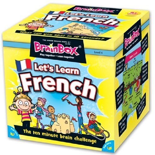 BrainBox Let's Learn French Memory Game 8+ by Brainbox