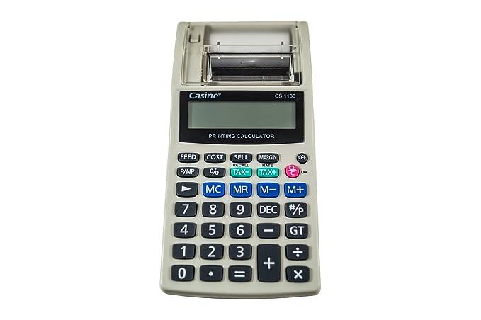 Calculadora de mesa Impresión sobre papel datafono impresora ...