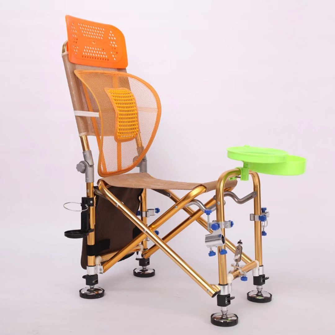 Aluminium Legierung Multifunktions-Angeln Stuhl faltbar Angeln Stuhl-Kann liegend Angeln Stuhl