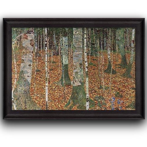 Birch Forest by Gustav Klimt Framed Art