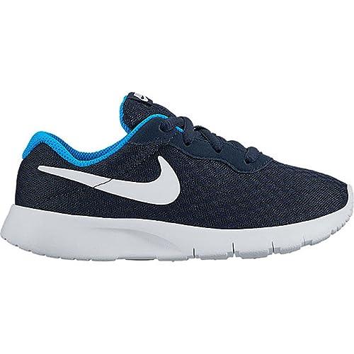 Nike Tanjun (PS), Zapatos de Primeros Pasos para Bebés, Blanco (Blanco (Obsidian/White-Photo Blue)), 29.5 EU: Amazon.es: Zapatos y complementos