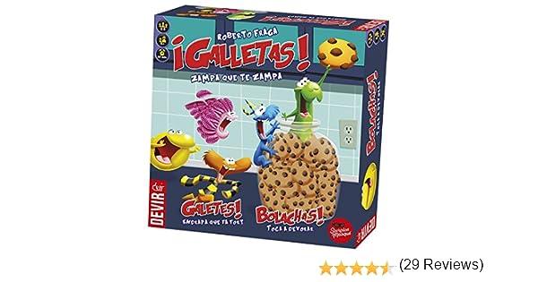 Devir - Galletas, juego de mesa (BGGALLETAS): Amazon.es: Juguetes y juegos