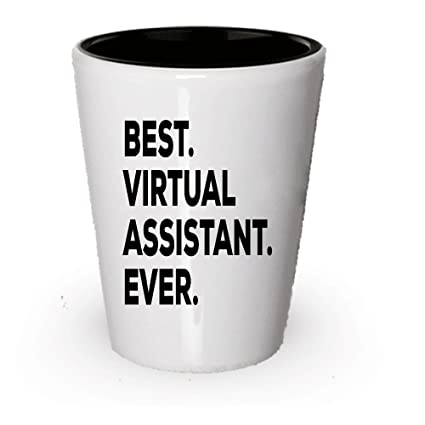 amazon com virtual assistant gift shot glass best virtual