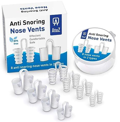 Amazon.com: Respiraderos de nariz contra los ronquidos ...