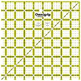 Omnigrip Neon Quilters Ruler - 8-1/2 Inch x8-1/2 Inch