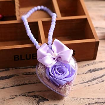 Aoligei Eternal Flowers Roses Ornaments Creative Send Girlfriend Romantic Birthday Present 187cm Amazoncouk Kitchen Home