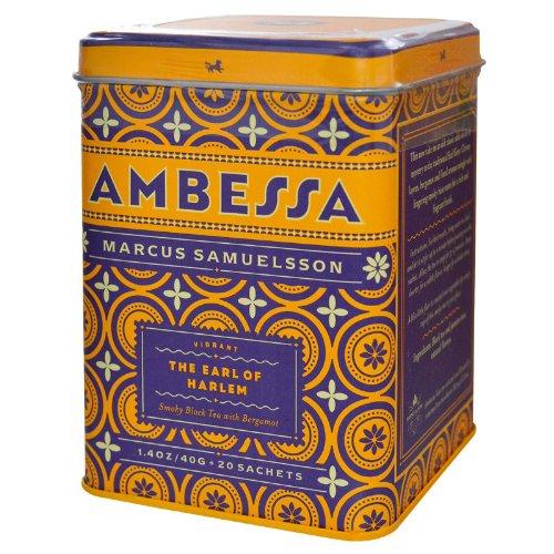 - Ambessa Earl of Harlem 20 Sachets Tea Tin by Harney & Sons