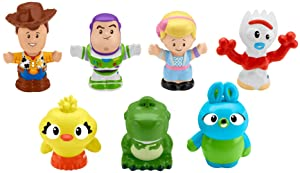 Toy Story Disney 4, 7 Friends Pack by Little People