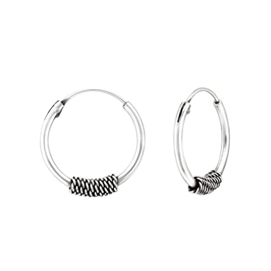 Bali Hoop Earrings in 925/000&nbsp;Rhodium-Plated Silver Ethnic Hoop Earrings&nbsp;</ototo></div>                                   <span></span>                               </div>             <div>                                     <div>                                             <a href=