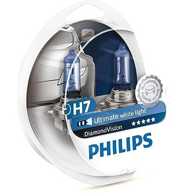Philips - Diamond Vision H7 Halogen HID Bulbs (Pair): Automotive