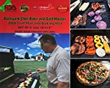 """Backyard Chef Grill Master BBQ Grill Mat FDA Approved Heavy Duty Non-Stick Best Grill Mat 16x13"""" Set of 2 - Great Gift Ideas Best BBQ Accessories"""