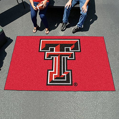 Fan Mats Texas Tech University Rectangular: 5 ft. x 8 ft. Tailgater Mat ()