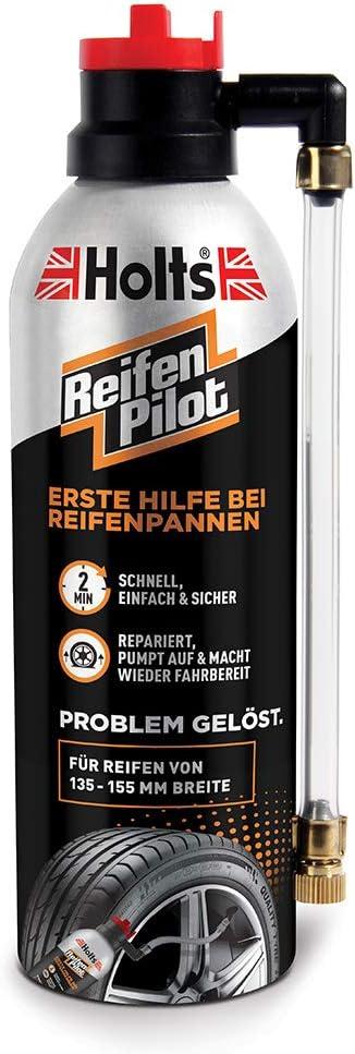 Holts 2x Reifenpannenspray Reifen Pilot Dichtungsmittel Reifenpflege Reifenpanne Pannenhilfe Autopflege 300 Ml 105120 Auto