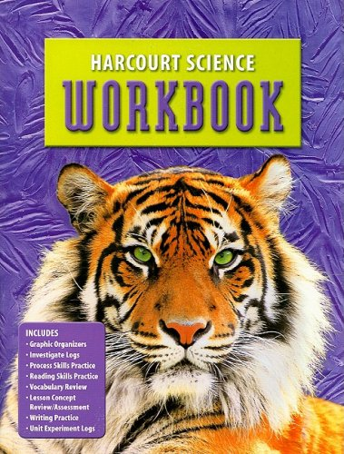Harcourt Science: Student Edition Workbook Grade 6