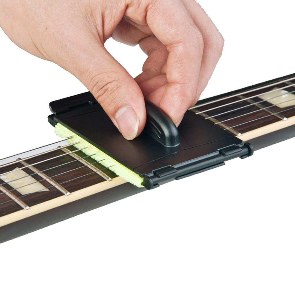 ireav 2個エレキギターBass Strings Scrubber Fingerboard消しゴムクリーニングツールメンテナンスケアBass Cleanerギターアクセサリー   B07DZTWPJN