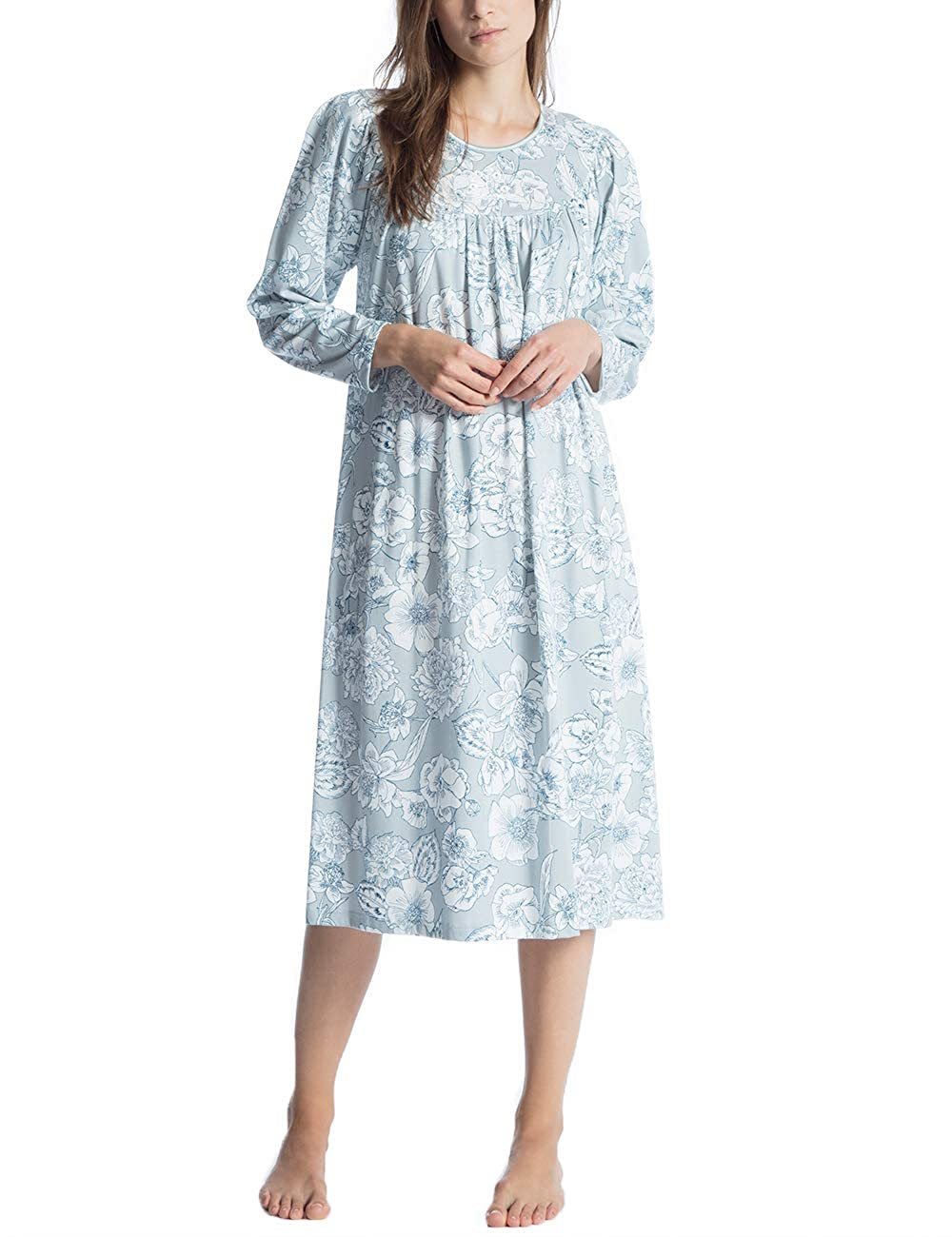 Camicia da Notte Donna Calida Soft Cotton