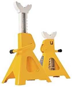 3. Performance Tool W41022 3 Ton Heavy Duty Jack Stand Set