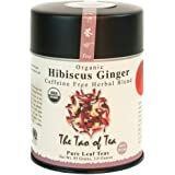The Tao of Tea, Hibiscus Ginger Tea, Loose Leaf, 3.0 Ounce Tin to make 50 cups