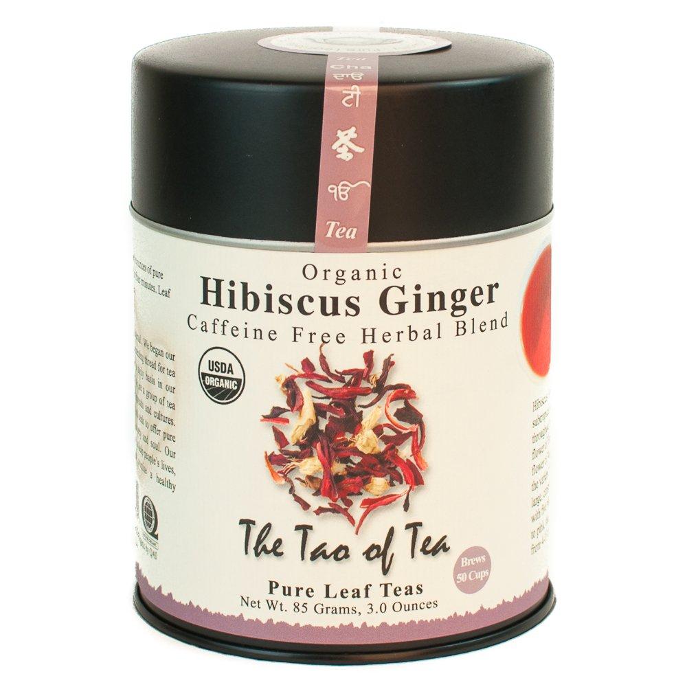 Amazon The Tao Of Tea Hibiscus Ginger Tea Loose Leaf 30