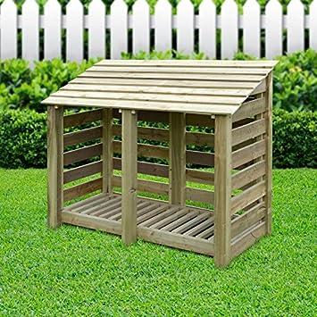 Rutland County Garden Furniture - Cabaña de listones de madera ...