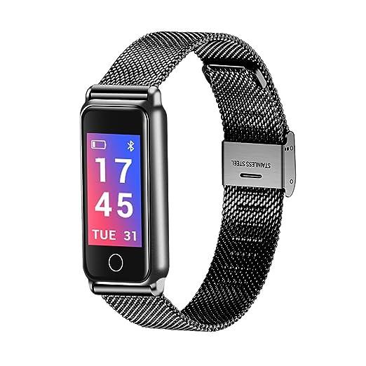 Digital Reloj de Moda Reloj Casual Chino Bluetooth Calendario Resistente al Agua Reloj Casual Aleaci246n Banda Lujo Moda: Amazon.es: Relojes