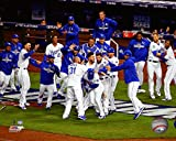 "Kansas City Royals 2015 World Series Game 1 Team Celebration Photo (Size: 8"" x 10"")"