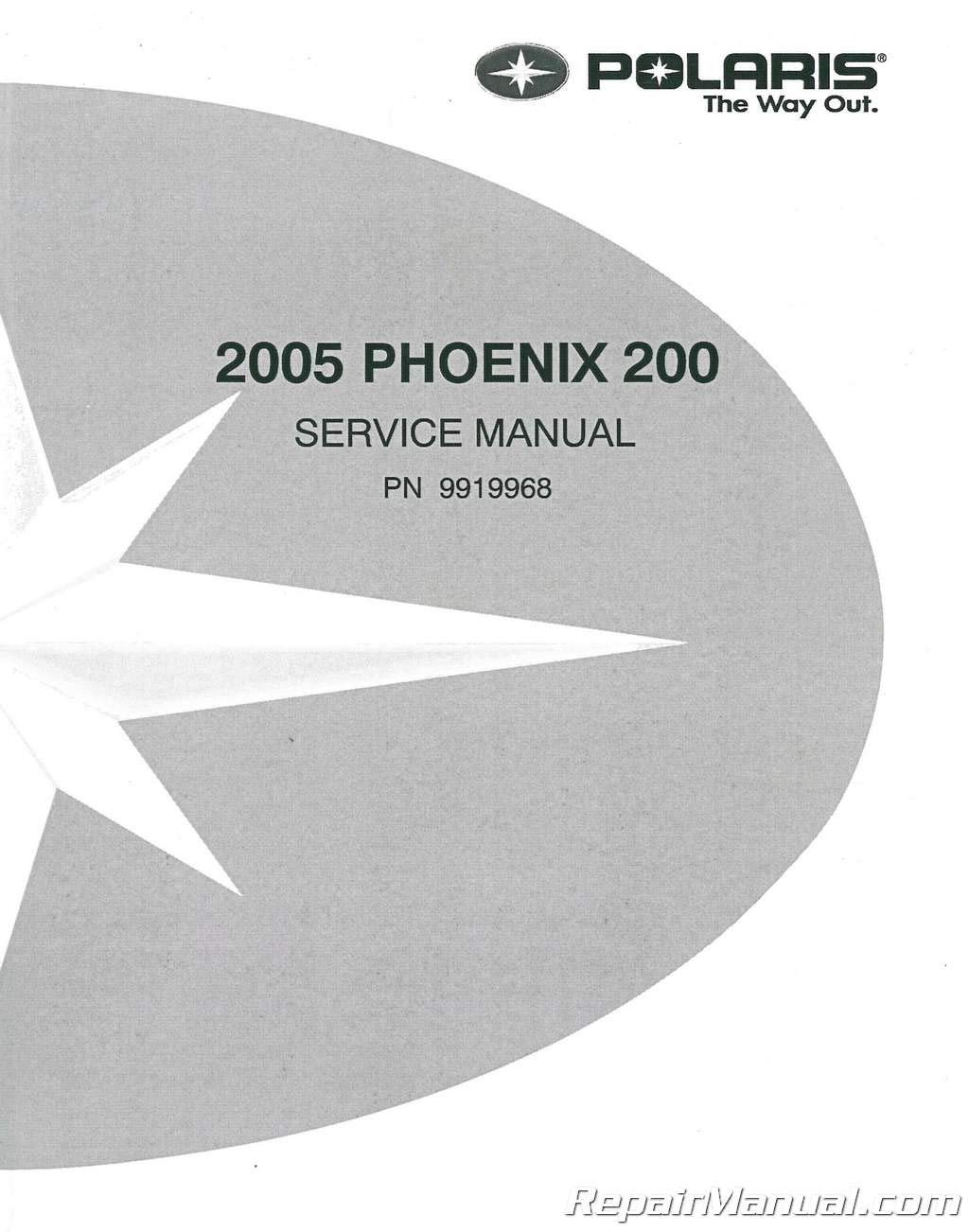 2005 polaris phoenix 200 manual polaris phoenix 200 array 9919968 2005 polaris phoenix 200 atv service manual manufacturer rh amazon com fandeluxe
