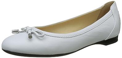 Geox Lamulay C, Ballerines Femme, Blanc (White), 36 EU