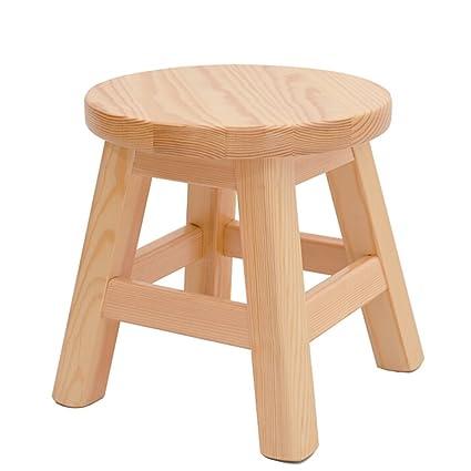 Fine Amazon Com Lqqgxl European Chair Solid Wood Stool Low Customarchery Wood Chair Design Ideas Customarcherynet