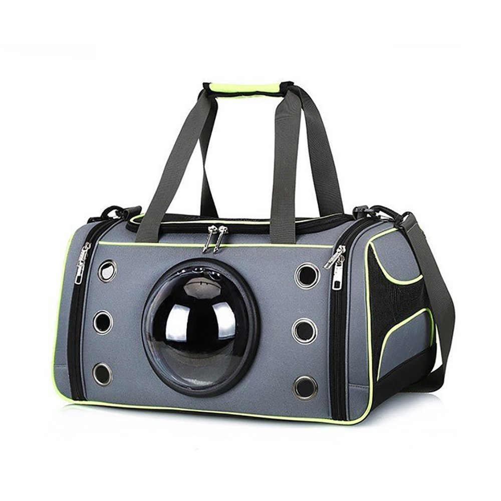 GKPLY Pet Travel Carrier,Deluxe Soft Sided Portable Ventilation Pet Carrier,Comfortable Design With Safety Features For Medium Sized Cats, Dogs, And Pets