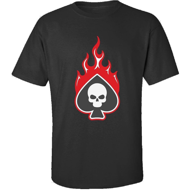 In Poker Skull Great Gift For Any Poker Fan - Adult Shirt